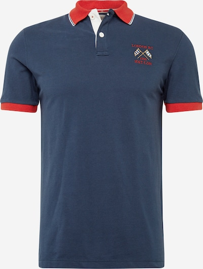 HKT by HACKETT Poloshirt in navy / rot: Frontalansicht