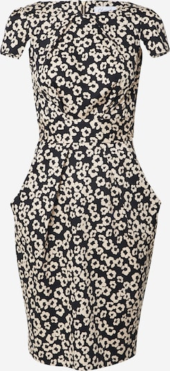 Closet London Kleid in schwarz / weiß, Produktansicht