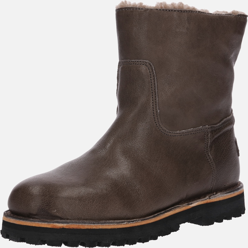 Shabbies TaupeKaki TaupeKaki En Amsterdam En Bottines Shabbies Bottines Amsterdam 3q4R5LAj