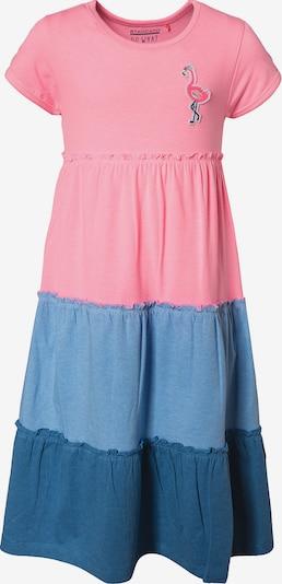 STACCATO Kleid in blau / hellblau / rosa, Produktansicht