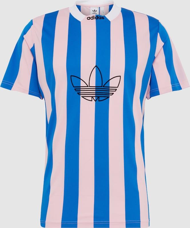 ADIDAS ORIGINALS Shirt 'ES PLY JERSEY' in blau   Rosa  Markenkleidung für Männer und Frauen