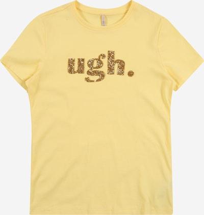 KIDS ONLY Shirt in gelb, Produktansicht