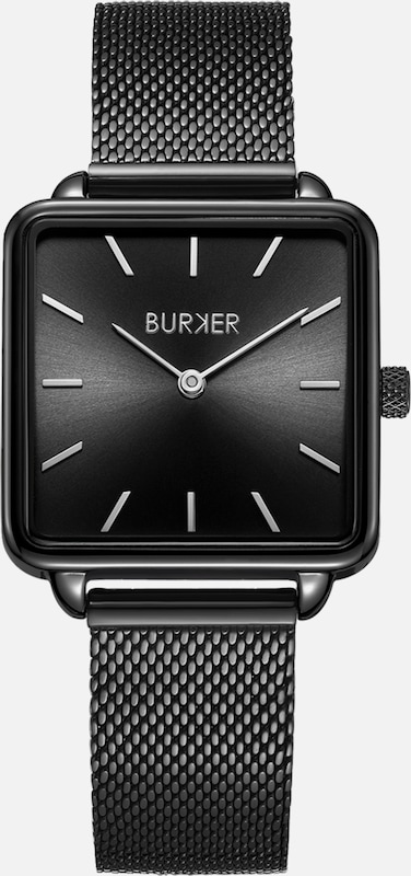 BURKER Watches Uhr 'Chloe Black' in schwarz, Produktansicht