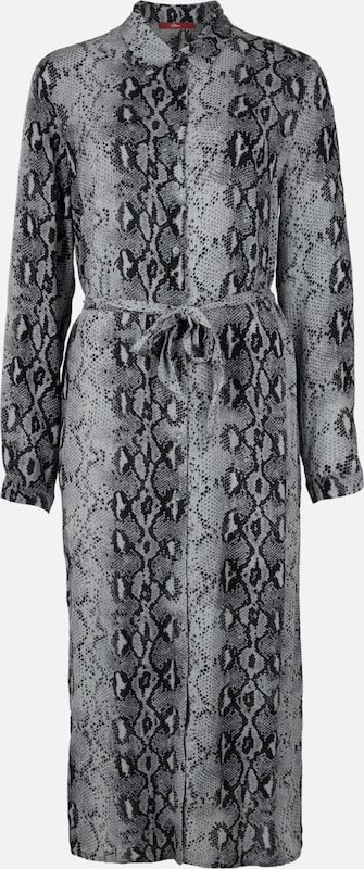 S.Oliver rot LABEL Blausenkleid in grau   basaltgrau  Markenkleidung für Männer und Frauen
