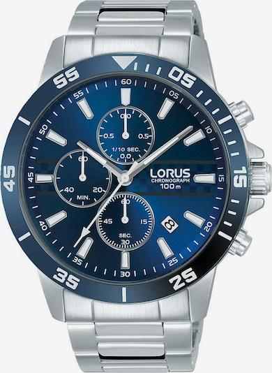 LORUS Chronograph in dunkelblau / silber, Produktansicht