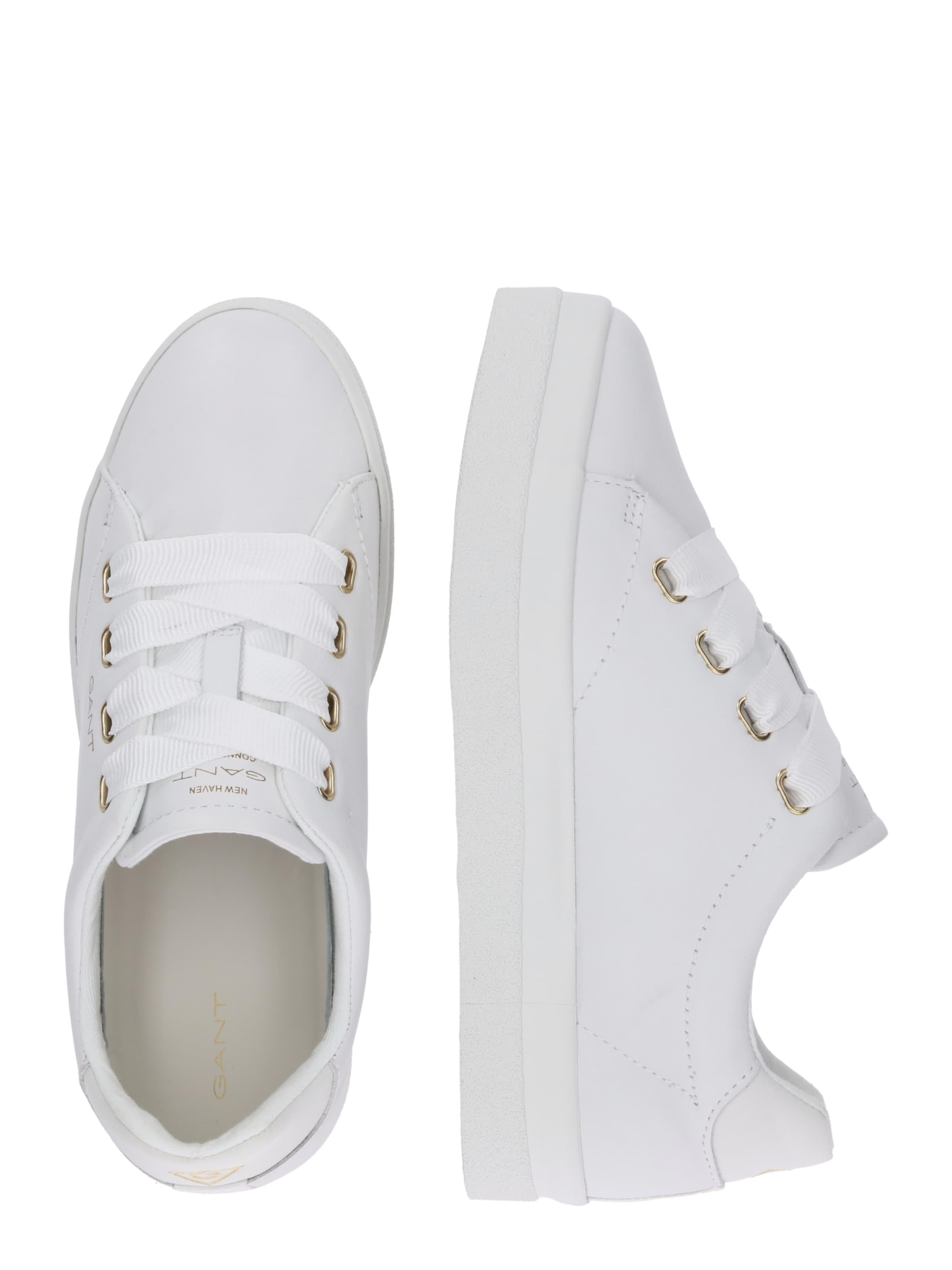 In Gant Laag 'aurora' Wit Sneakers tQsdhr