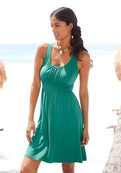 LASCANA Strandkleid in petrol, Modelansicht