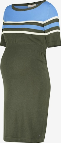 Esprit Maternity Knitted dress in Green