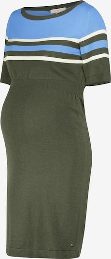 Esprit Maternity Kleid in hellblau / dunkelgrün / weiß, Produktansicht