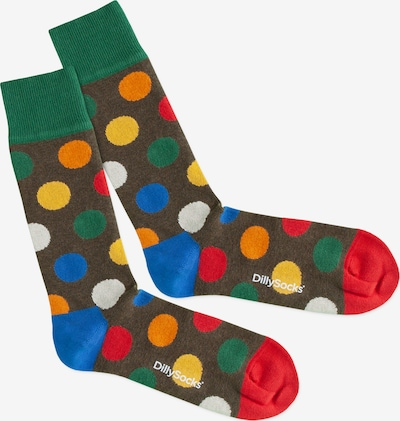 DillySocks Socken 'Rabbit Eggs' in mischfarben, Produktansicht