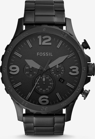FOSSIL Analog Watch 'NATE' in Black