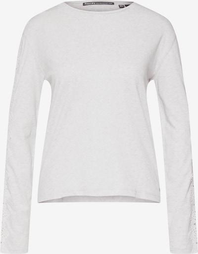 Marškinėliai iš Superdry , spalva - margai pilka: Vaizdas iš priekio