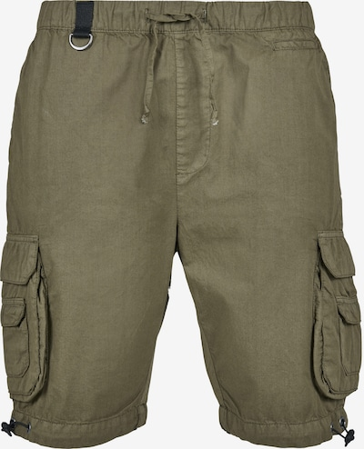 Urban Classics Pantalon cargo en olive, Vue avec produit