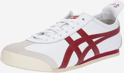 Onitsuka Tiger Sneakers laag 'Mexico 66' in de kleur Lichtgrijs / Vuurrood / Wit, Productweergave