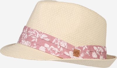 chillouts Trilby Strohhut 'Minneapolis' in beige / rot, Produktansicht
