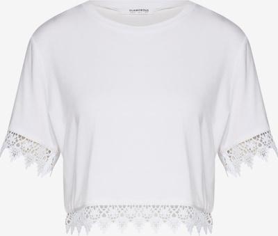 GLAMOROUS T-Shirt in weiß, Produktansicht