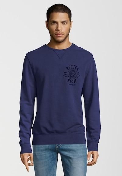 BETTER RICH Sweatshirt 'UNIVERSITY ACID' in blau / navy: Frontalansicht