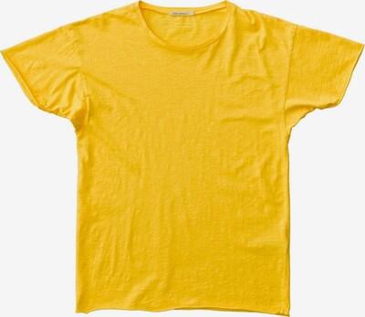 Nudie Jeans Co Shirt 'Roger Slub' in gelb, Produktansicht