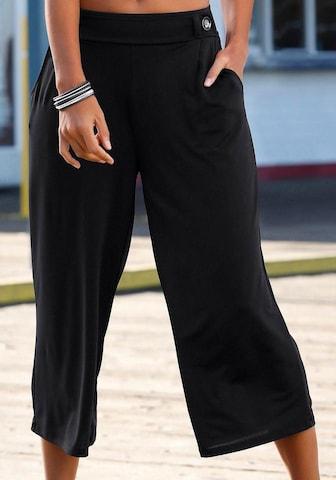 BUFFALO Bukse i svart
