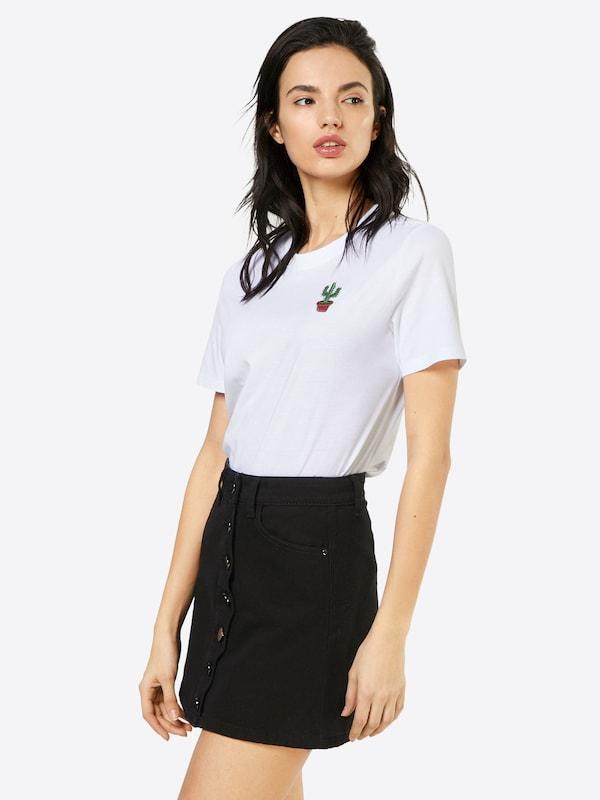 PIECES T-Shirt 'FRILLA'