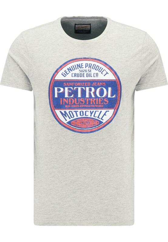shirt Bleu Industries Gris T Petrol Rouge En EwO8TBq