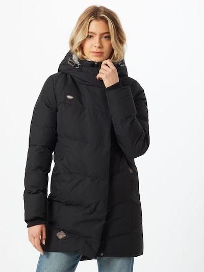 Ragwear Wintermantel 'Pavla' in de kleur Zwart, Modelweergave