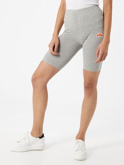 ELLESSE Shorts 'TOUR' in graumeliert / orange / rot / weiß, Modelansicht