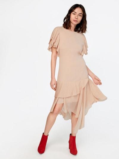 POSTYR Kleid in pfirsich: Frontalansicht