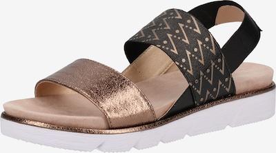 bugatti Sandalen in hellbraun / dunkelbraun, Produktansicht
