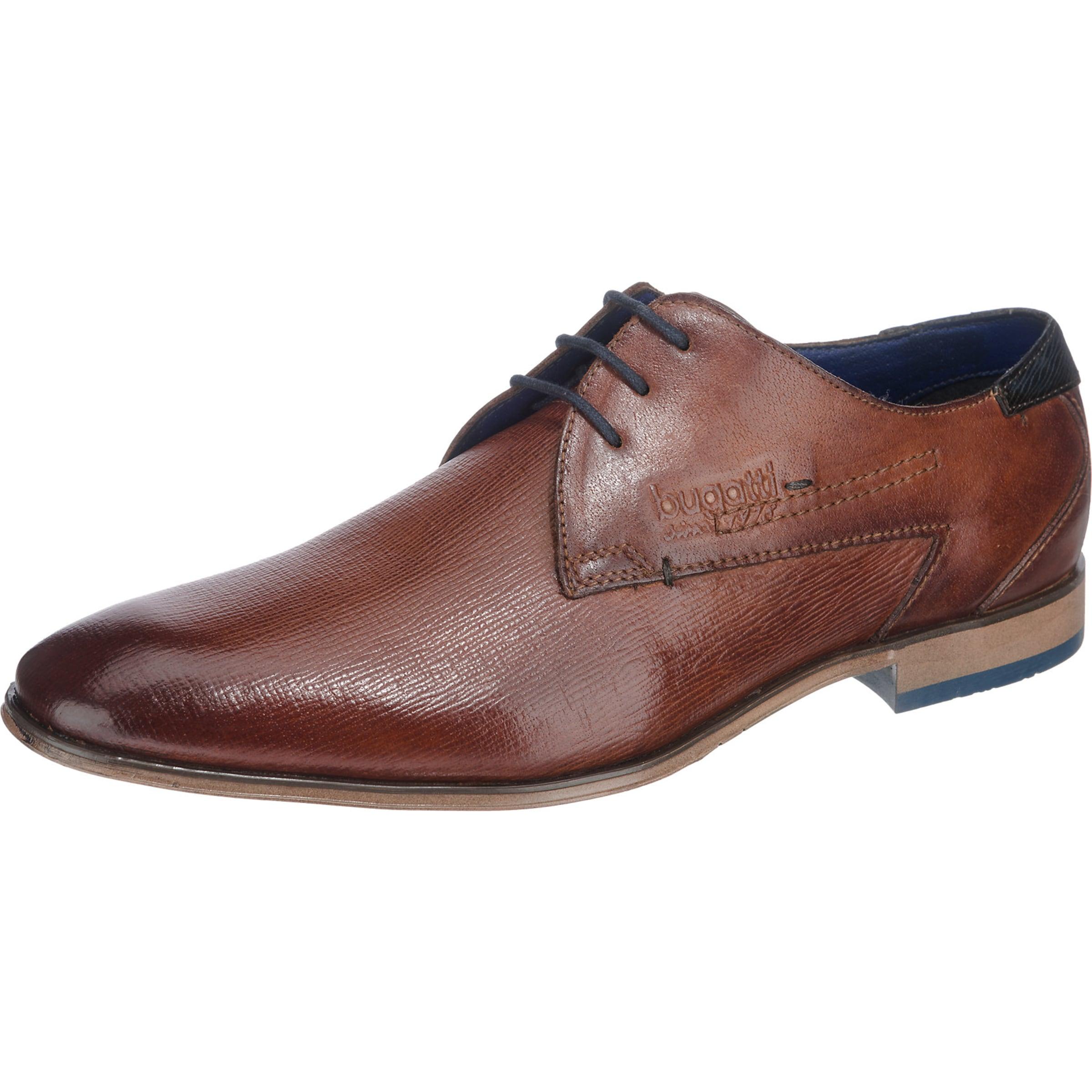 bugatti Schnürschuh Verschleißfeste billige Schuhe Hohe Qualität