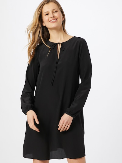 BOSS Kleid 'Effei_1' in schwarz, Modelansicht