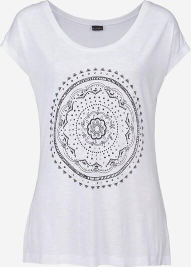LASCANA Strandshirt in weiß, Produktansicht