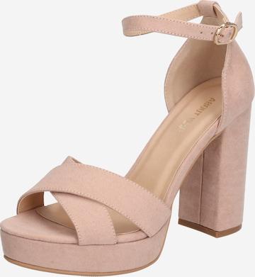 ABOUT YOU - Zapatos con plataforma 'Carina' en beige