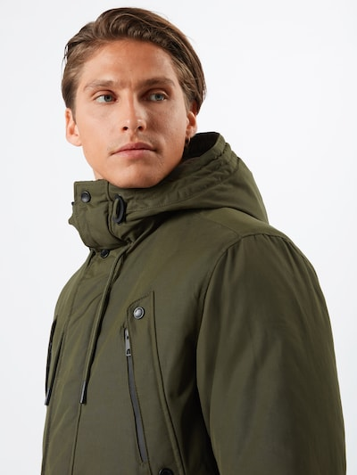 EDC BY ESPRIT Parka 'Iconic' in oliv | ABOUT YOU