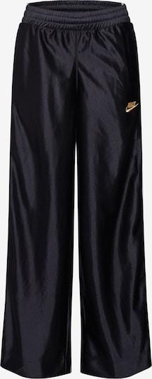 Nike Sportswear Broek 'POPPER PANT' in de kleur Zwart / Wit, Productweergave