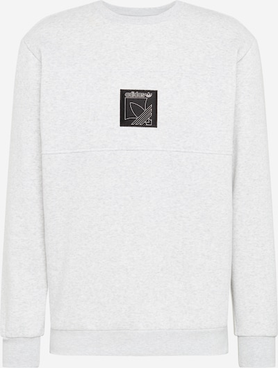 ADIDAS ORIGINALS Sweat-shirt en gris clair / noir, Vue avec produit