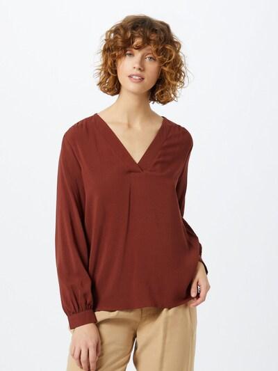 JACQUELINE de YONG Bluse in rostrot, Modelansicht