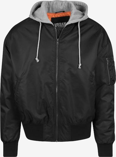 Urban Classics Jacke in graumeliert / orange / schwarz, Produktansicht