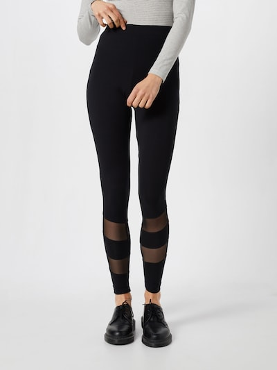 Leggings 'Phoebe' ABOUT YOU pe negru, Vizualizare model
