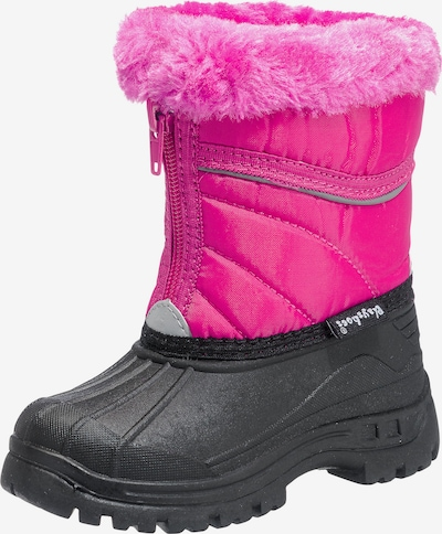 PLAYSHOES Winterstiefel in pink: Frontalansicht