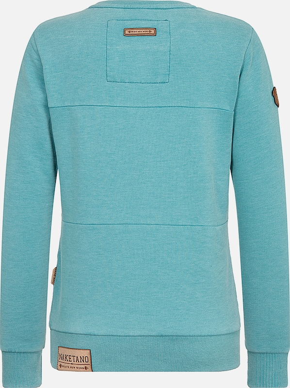 In Sweatshirt Entenarsch' 'daisy Turquoise Naketano nO8X0wPk