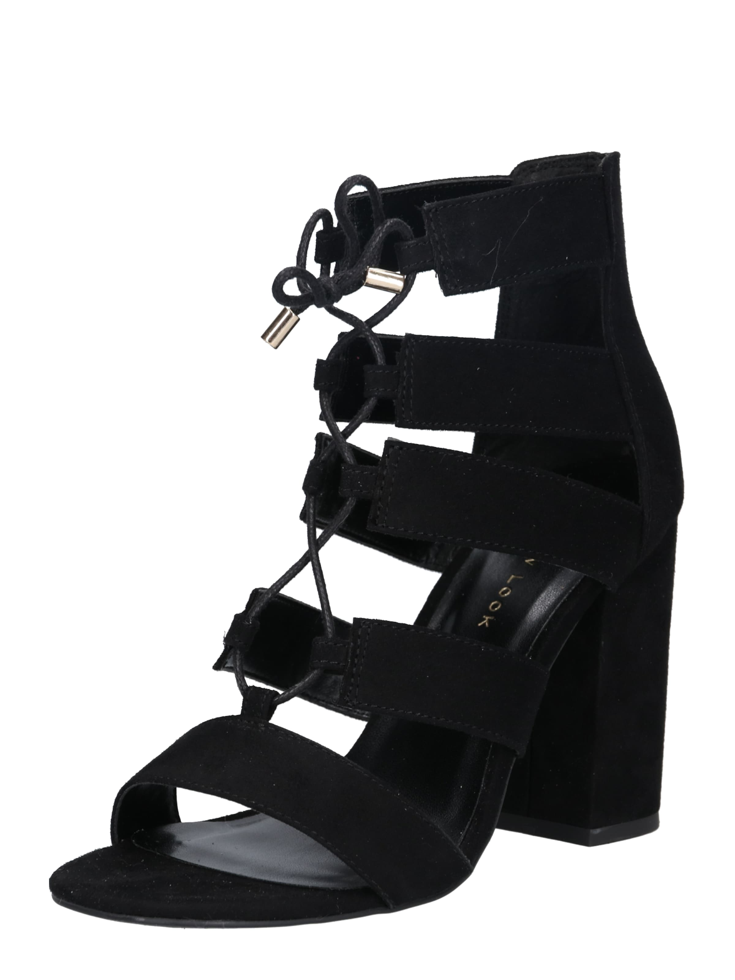 In New Look Schwarz Heels High CBoxWrde