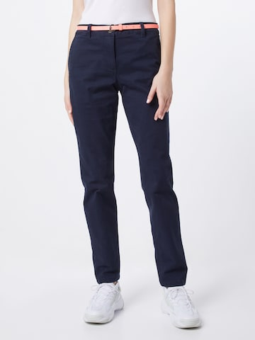 Pantalon chino TOM TAILOR en bleu