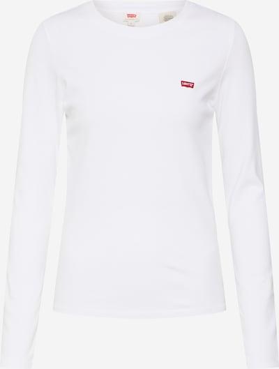LEVI'S Shirt 'LS BABY TEE' in weiß, Produktansicht