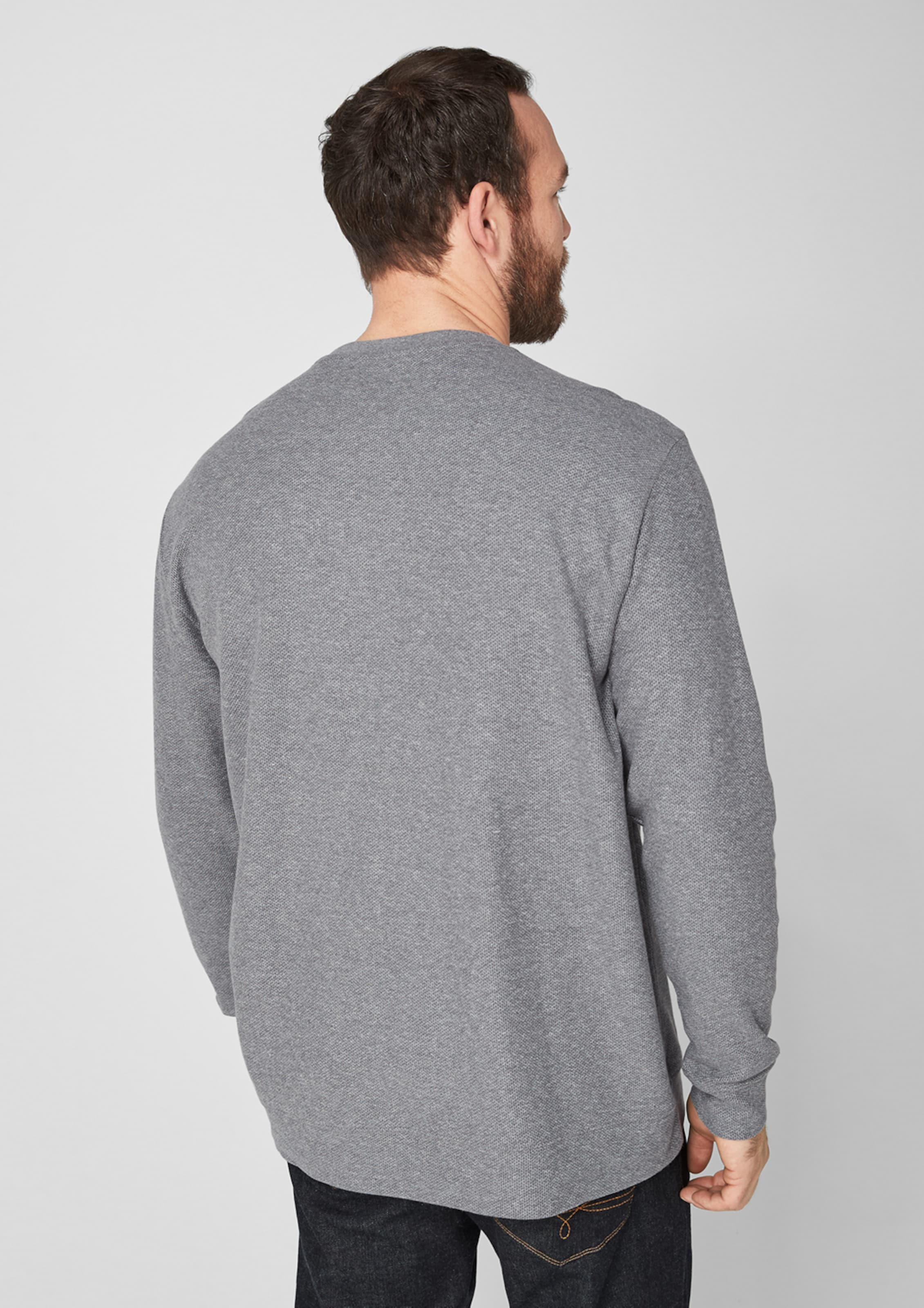 In oliver Pullover S Pullover In S Pullover Grau oliver S oliver Grau Yfyb7g6