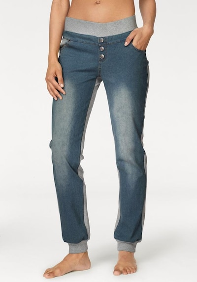 BUFFALO Jeans-Leggings in blue denim / graumeliert, Modelansicht