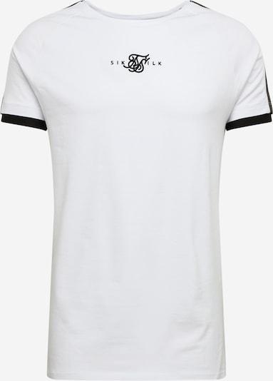 SikSilk Shirt in weiß, Produktansicht