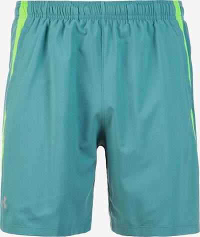 UNDER ARMOUR Shorts 'Launch 7 Inch' in jade / kiwi, Produktansicht