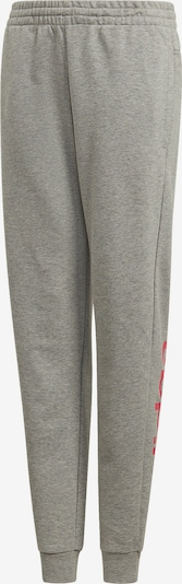 ADIDAS PERFORMANCE Jogginghose 'YG E LIN' in grau / pink, Produktansicht