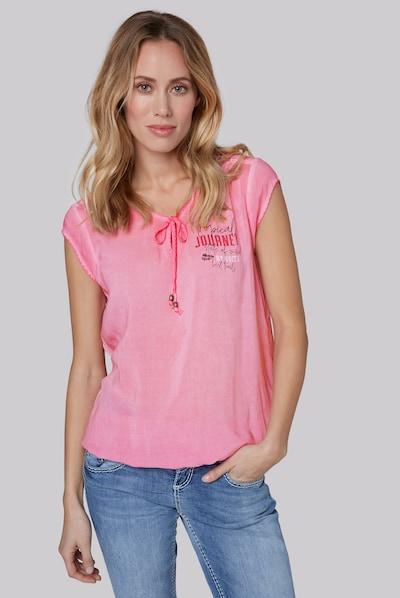 Soccx Blusentop in pink, Modelansicht